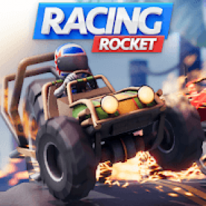 Постер Racing Rocket : Parkour Rivals
