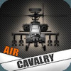 Постер Helicopter Sim Flight Simulator Air Cavalry Pilot