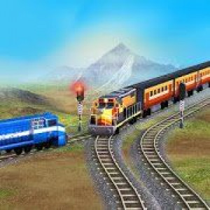 Постер Train Racing Games 3D 2 Player