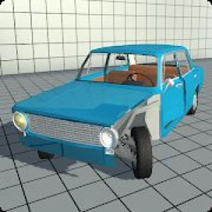 Постер Simple Car Crash Physics Simulator Demo