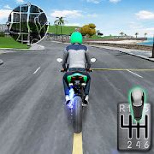 Постер Moto Traffic Race 2: Multiplayer