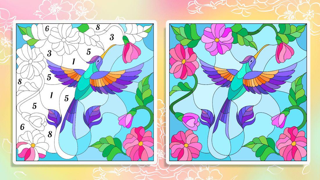 Happy Color – раскраска по номерам скачать для Android ...