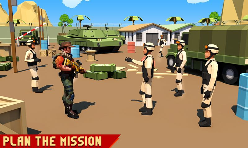 Изображение к игре Real Army Men Commando Stars - Military Tank Games