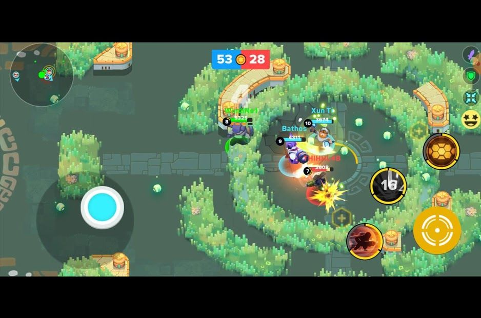 Изображение к игре Heroes Strike Offline - MOBA & Battle Royale