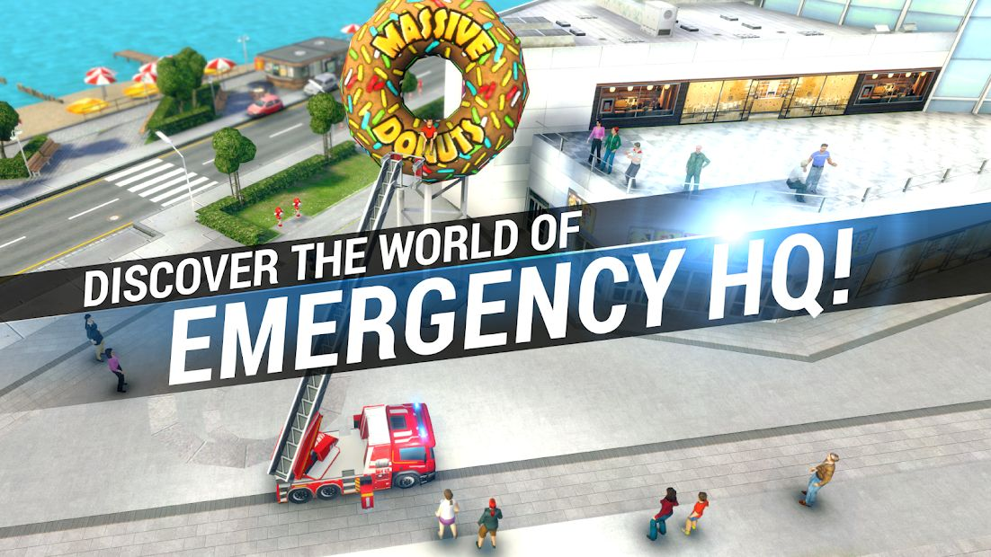 Изображение к игре EMERGENCY HQ - free rescue strategy game