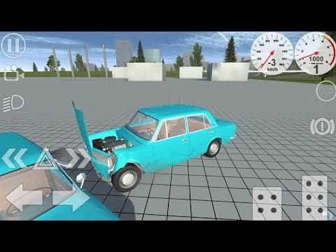 Изображение к игре Simple Car Crash Physics Simulator Demo